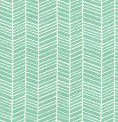 Joel Dewberry, True Colors, Herringbone - Pond | Lola Pink Fabrics