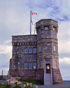 Cabot Tower, Signal Hill National Historic Site, Newfoundland