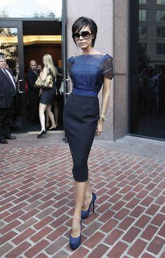 Victoria Beckham #chic #posh