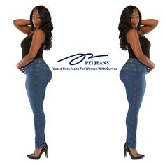5ccaa0177e6 452 Best Curvy Jeans images in 2018   Curves, Curvy jeans, Curvy women
