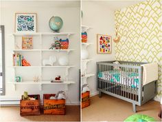 the boo and the boy: gender neutral nurseries