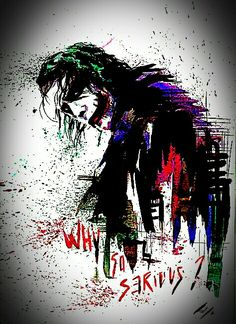 Joker why so serious Batman Joker Wallpaper, Joker Iphone Wallpaper, Graffiti Wallpaper, Joker Wallpapers, Marvel Wallpaper, Heath Ledger Joker Wallpaper, Iphone Wallpapers, Joker Comic, Joker Art