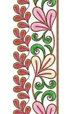 Now you can enjoy our Premium Range Embroidery Designs of Lace Boarder Designs, Border Embroidery Designs, Embroidery Suits Design, Embroidery Patterns, Machine Embroidery, Background Designs, Hand Embroidery Videos, Embroidery Techniques, Madhubani Painting