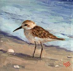 Krista Eaton Gallery of Original Fine Art Bird Painting Acrylic, Easy Canvas Painting, Louisiana Art, Beach Watercolor, Mini Canvas Art, Shorebirds, Coastal Art, Nature Prints, Sea Birds