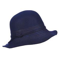 7f0fed22001 Bernadette - LV351 - Callanan Wool Felt Cloche Hat