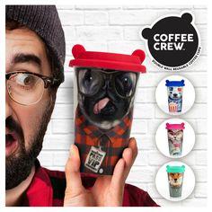 Coffee Crew Panda Travel Mug