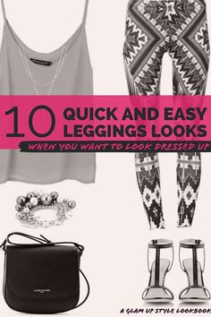 Here Is The Quick  Easy Way To Dress Up Your Leggings
