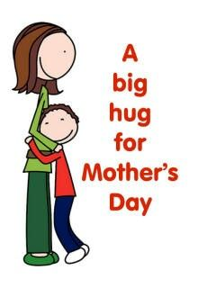 Mom hug