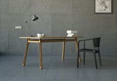 Beams Chair and desk by Eric & Johnny, 2013