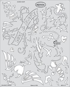 Картинки по запросу stencil air brush