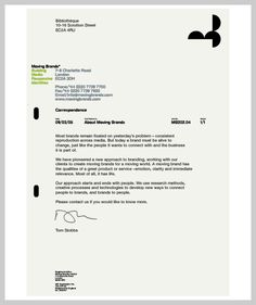 30 sample company letterhead design pieces for inspiration company letterhead design moving brands thecheapjerseys Images