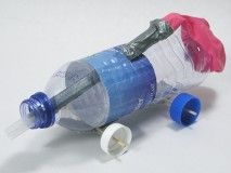 Best and innovative project ideas for kids to create some best project out of waste thing around you. Make Balloon Car, roller, Vowel stick,bags and many from it.