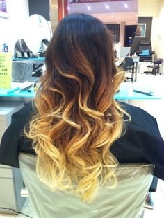 Perfect transitions! Ombré just never gets old! Come see me ;) Kristy @ Clip 9056322547