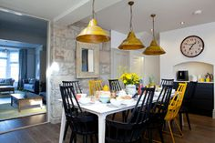St Ives, Cornwall - beach-style - Dining Room - South West - Camellia Interiors Ltd