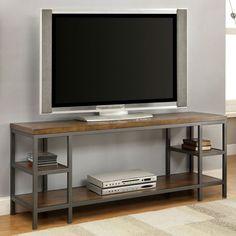 Furniture of America Pessoa Industrial 60 in. TV Console - IDF-5225-TV