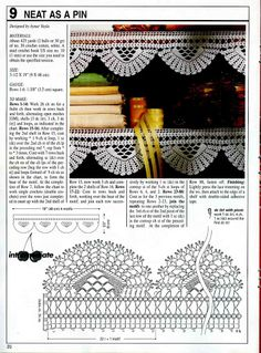 Decorative Crochet 67 - jurate - Picasa Web Album...album loaded with Decorative Crochet magazines.....