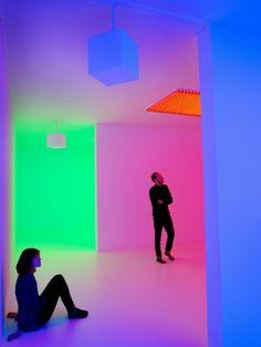 Light Show at Hayward Gallery - Chromosaturation