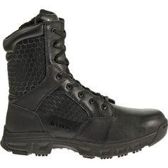 Bates Men's Code 6 8 Side-Zip Service Boots