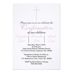 Confirmation Pink Triplets Invitations Custom Office Party Invitations #office #partyplanning