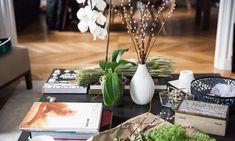 Fleurs Salon Table Basse India Weber