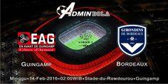 Prediksi Guingamp vs Bordeaux 14 Februari 2016