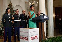 Los Obama nos enseñan la decoración navideña de la Casa Blanca - Foto 12