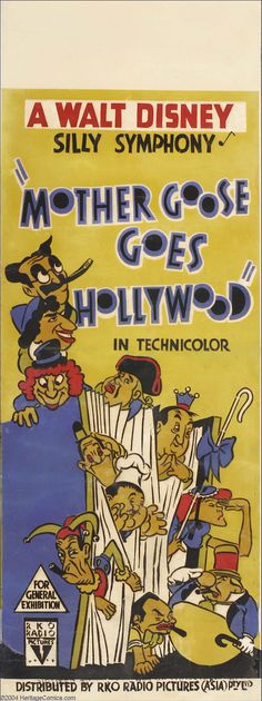 Mother Goose Goes Hollywood  – Disney