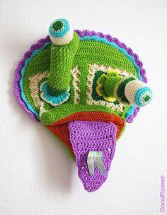 ✿★ Monster DIY ✝☯★☮ monstre par cocoflower - http://chezcocoflower.blogspot.de/2013/04/mon-monstre-interieur.html