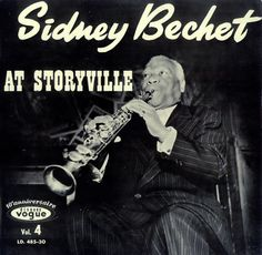 Sidney Bechet, At Storyville, French, Deleted, vinyl LP album (LP record), Disques Vogue, LD.485-30, 448173