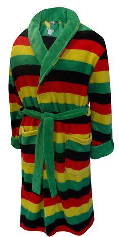 WebUndies.com Weedman Ganja Leaf Cozy Robe
