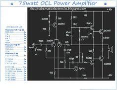 Mono 75W OCL Power Amplifier