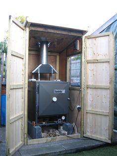Laser G2 kiln shed for sale