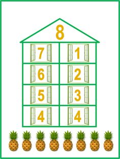 Number Bonds, Childbirth Education, Periodic Table, Parenting, Diagram, Math, Holiday Decor, Pallets, Puzzle