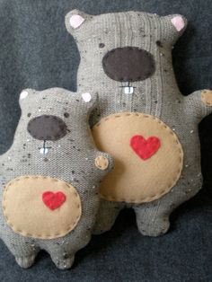 Happy Groundhog Plush cutest critter by TheHappyGroundhog on Etsy, $47.00