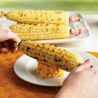 Corn on the Cob with Flavored Butters at Sur La Table