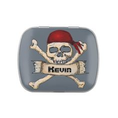 Pirate Jelly Belly Candy Tin