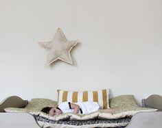 Mattress Pad / Play Mat / Nap Mat crib / toddler by ColetteBream