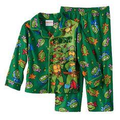 Teenage Mutant Ninja Turtles Fleece Pajama Set - Toddler Boy