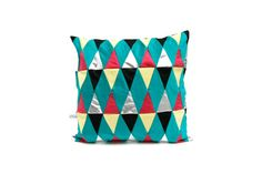 harlequin patchwork cushion cover multicolored  par lisasfactory, €75,00