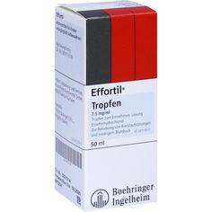 EFFORTIL Tropfen:   Packungsinhalt: 50 ml Tropfen zum Einnehmen PZN: 08512260 Hersteller: EurimPharm Arzneimittel GmbH Preis: 6,97 EUR…