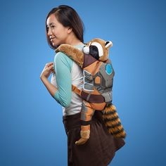 Rocket Raccoon Backpack Protects Your Galaxy from Intergalactic Bullies - #guardians #marvel #school