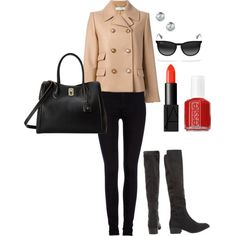 """""""Over-the-Knee-Boots"""" by fashionscoutapp on Polyvore. No fall piece is quite as chic as a pair of over-the-knee-boots. Perfect for a chilly morning commute or drinks after work. These are a pair of boots you'll want to invest in because they're never short on style points."""