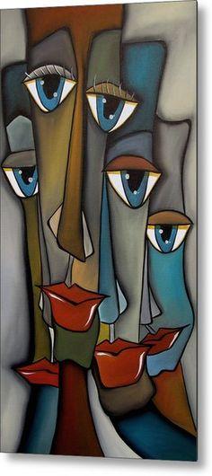 Tight Knit By Fidostudio por Tom Fedro - Fidostudio - Pinturas de Thomas Fedro Canvas Art, Canvas Prints, Art Prints, Pop Art Collage, Cubism Art, Arte Pop, Face Art, African Art, Painting Inspiration