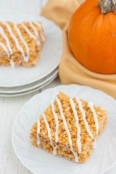 Pumpkin rice krispies treats-would be cute to cut out using pumpkin shaped cookie cutter