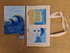 Handmade - Greece edition Greece, Handmade, Bags, Greece Country, Handbags, Hand Made, Bag, Totes, Handarbeit