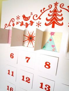 for next year: fun and unique advent calendars.  lots of cool ideas -- who's ever heard of a lego advent calendar??!