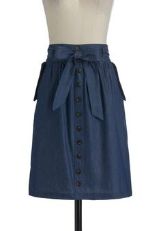 Just a Chesapeake Skirt. I love that this skirt is A-line because it is such a classic silhouette like the skirts I love from Grace Kelly's pictures. #styleicon #modcloth