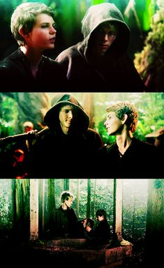 """""""Love can mean many things, Felix. It doesn't just come from romance or family. It can also come from loyalty."""" Peter Pan, Once Upon a Time."""