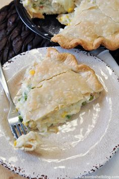 This simple recipe for creamy chicken pot pie comes together in a hurry and is sure to delight the whole family! A great freezer meal as well!