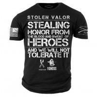 Stolen Valor 2 T-Shirt- Grunt Style ASMDSS Men s Graphic Military Tee Shirt 62c2d49be